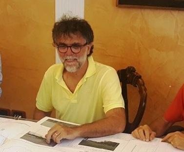 L'assessore all'ambiente, Umberto Talamonti