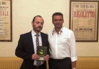 Il presidente Luca Pino e l'Assessore Mauro Torresi