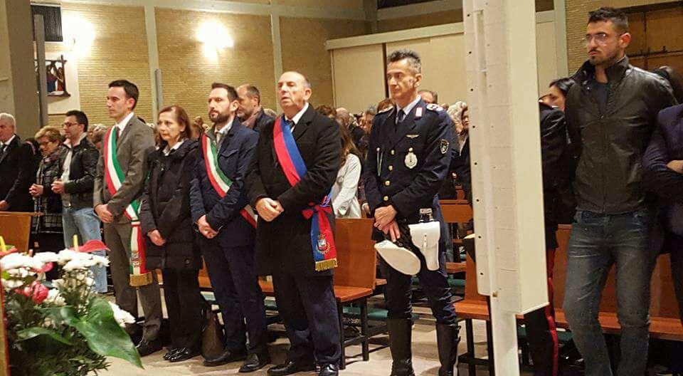 Autorità alla Messa solenne di San Crispino