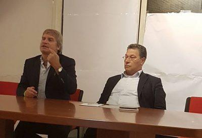 Luca Paolini (a sx) e Carlo Ciccioli
