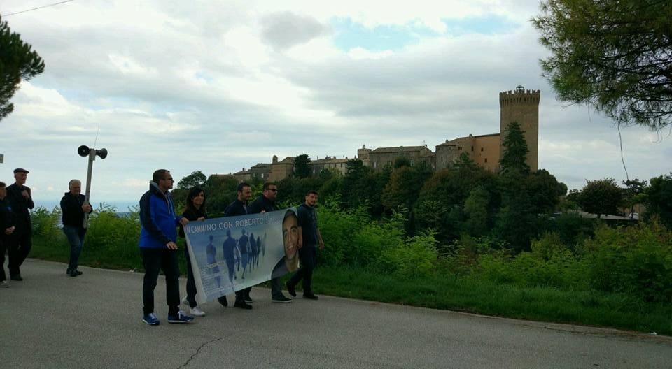 Roberto Straccia camminata Petritoli