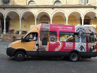bus navetta Fermo piazza