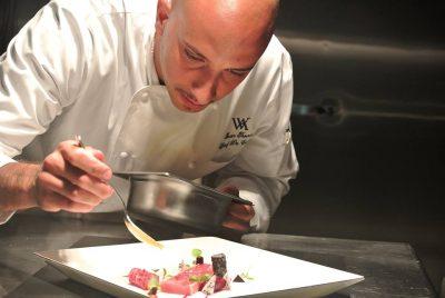 Lo chef Ivan Tronci