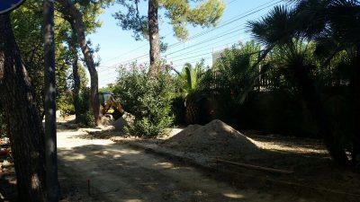 lavori viale Cavallotti