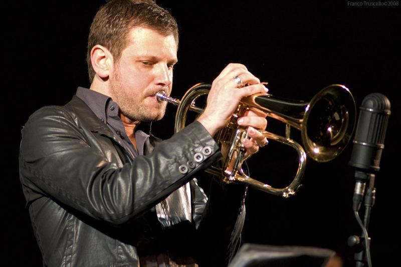Il trombettista Fabrizio Bosso