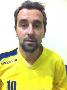Alessandro Smerilli, autore della tripletta in Piane di Montegiorgio - Truentum 3-0