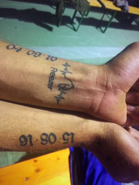 Tatuaggio del Team Cacino