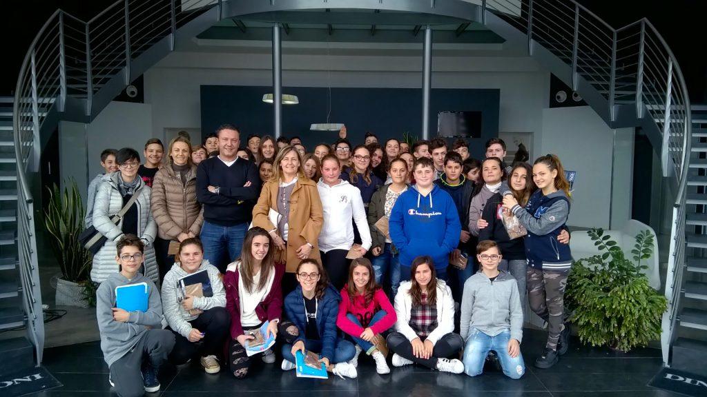 """Studenti alla """"Dino Bigioni"""" per il Pmi day 20916"""
