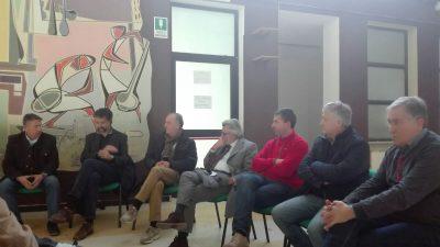 Il direttore Asur Area Vasta IV, Licio Livini, e i sindaci dei Sibillini
