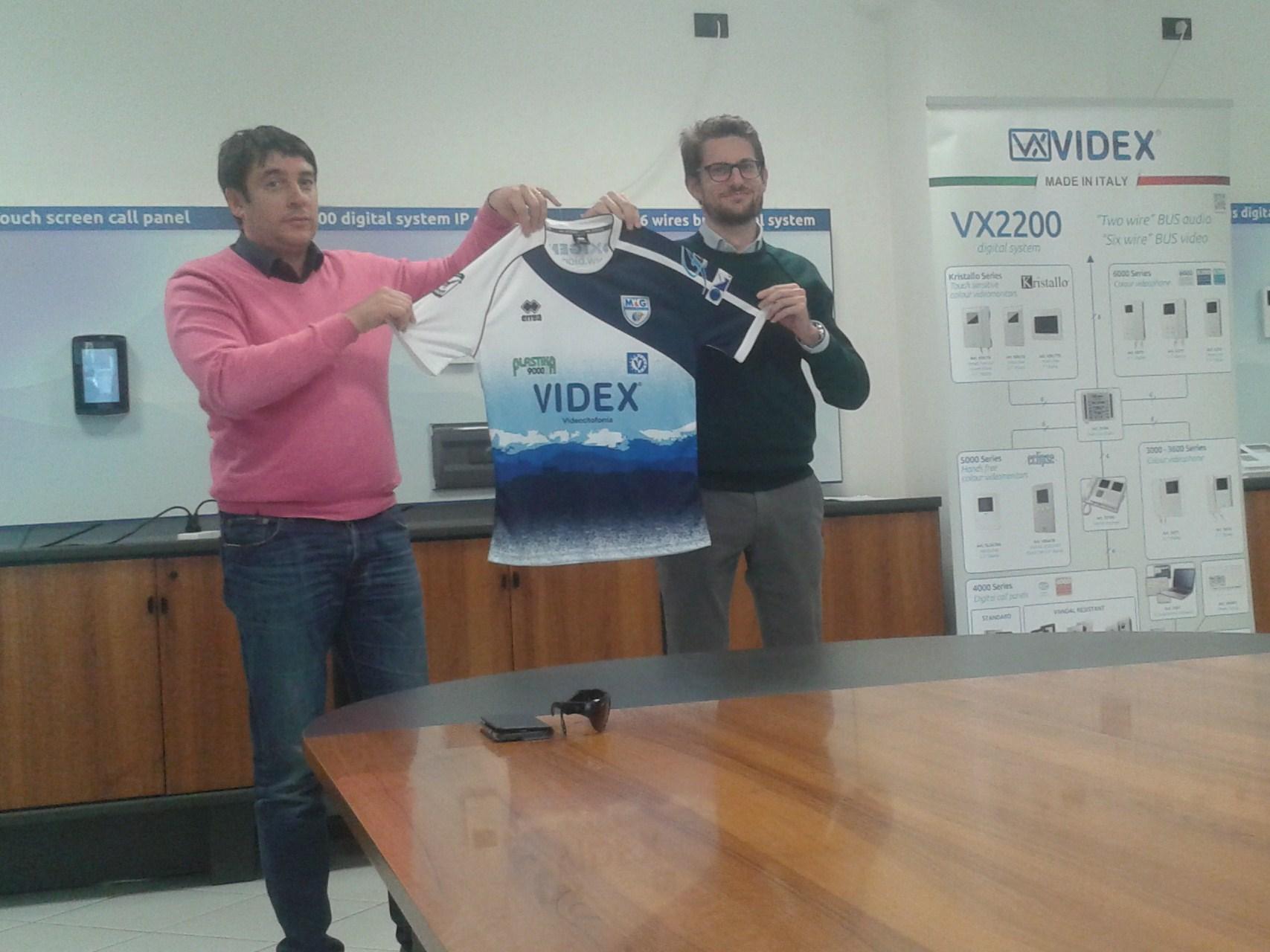 Romiti e Marcantoni svelano la nuova maglia della M&G Videx Grottazzolina
