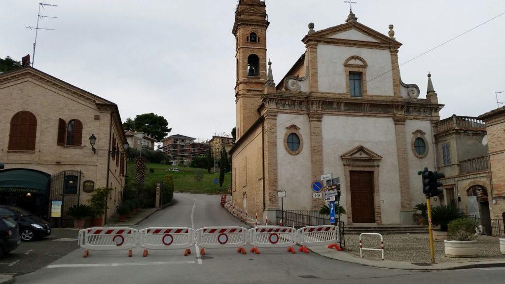 chiesa del rosario Porto San Giorgio terremoto