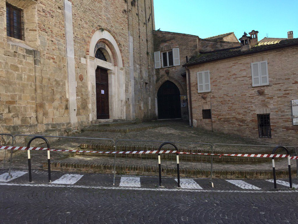 San Zenone terremoto