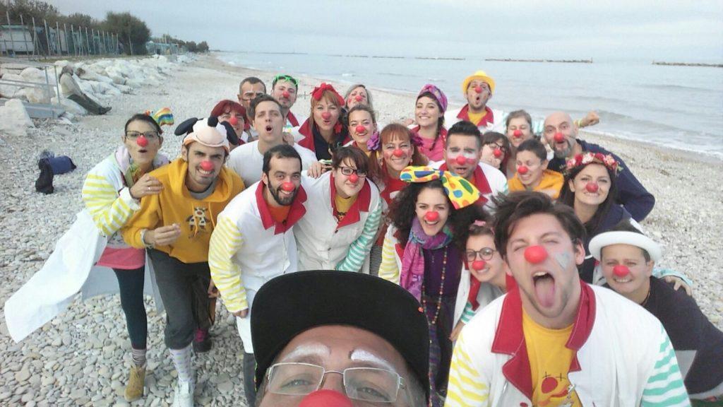Clown Fermo Terremoto
