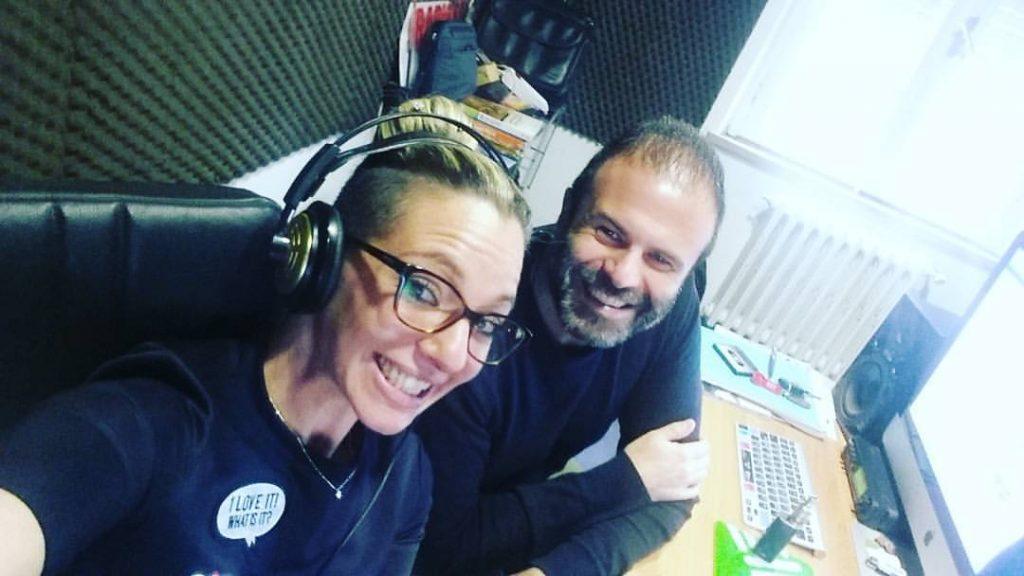Lucia Gallucci e Andrea Vergari