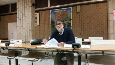 L'assessore all'urbanistica Umberto Talamonti