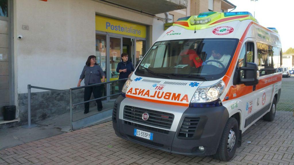 rapina-pse-ufficio-postale-ambulanza