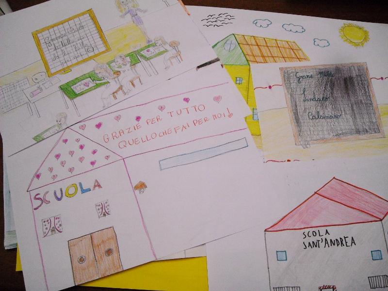 disegni don dino mancini terremoto