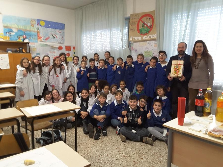 Calcinaro scuola Cavour