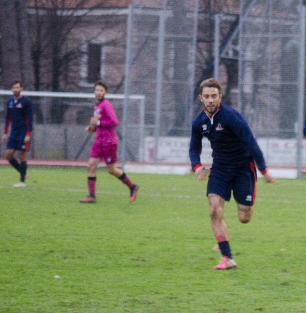 Matteo Minnozzi, attaccante, classe 96'