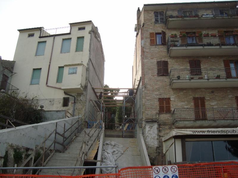 via-s-anna impianto risalita terminal Fermo Lavori