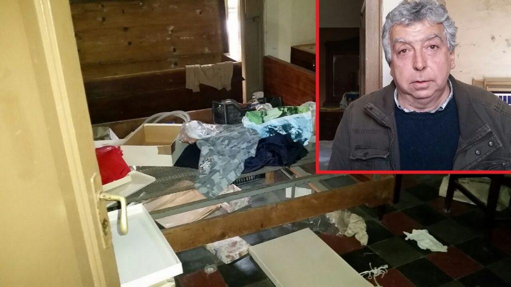 Sopralluogo nella casa occupata feriozzi 39 sono tornati 39 il video e le foto dall 39 interno - Coibentare casa dall interno ...