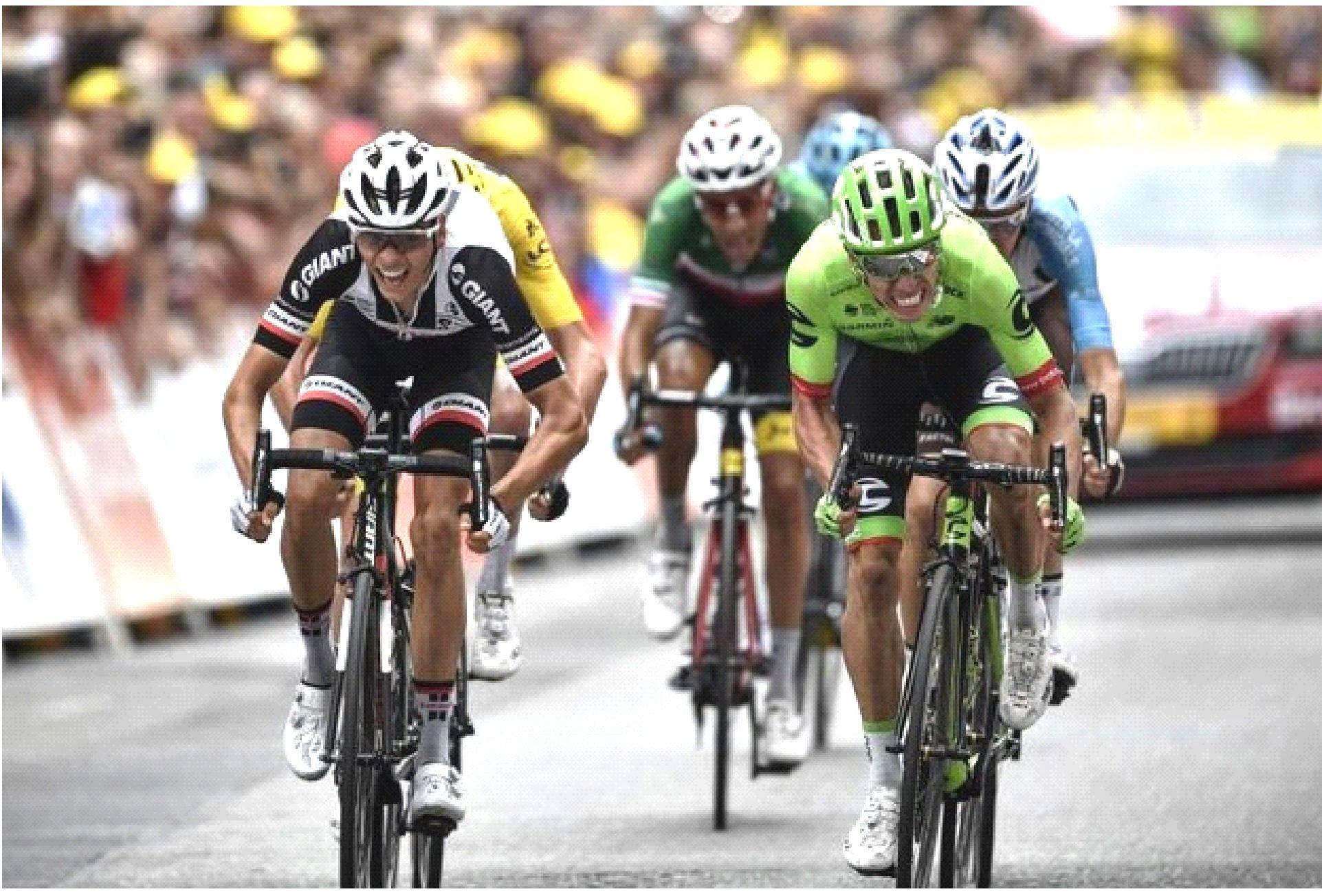 Tour, vince Uran: Froome resta in giallo, Aru con i migliori