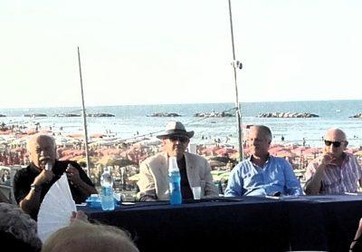 Luciano Magnalbò, Maurizio Verdenelli, Carlo Iommi, Americo Marconi.