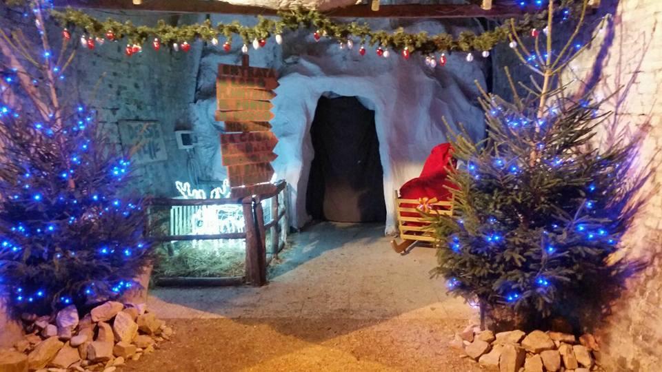 Parco Di Babbo Natale.Torna La Casa Di Babbo Natale Di Contrada Campolege Nuova Sede In