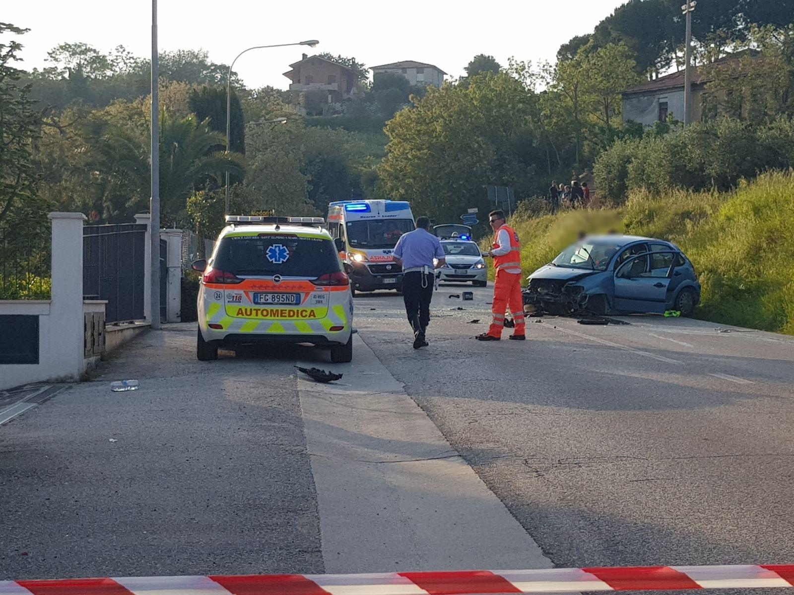 Incidente sull'Elpidiense: muore 46enne, l'automobilista a Torrette
