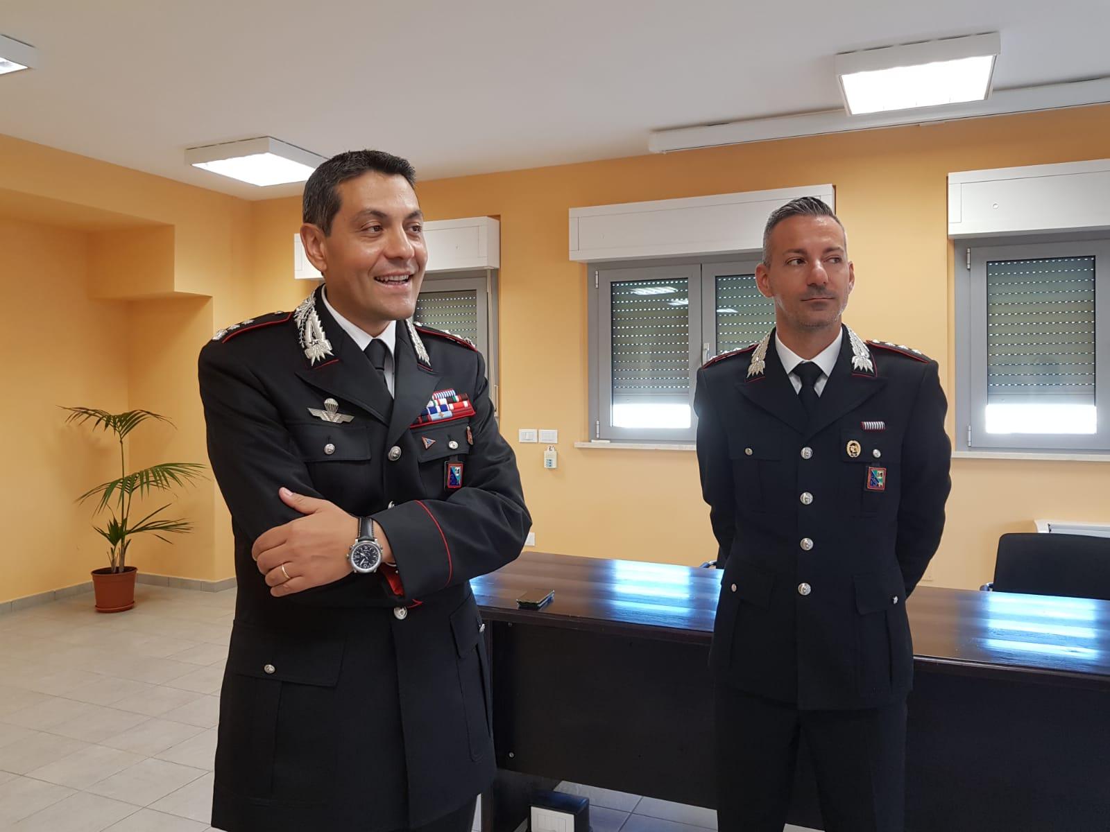Larma Che Cresce Il Nuovo Comandante Provinciale Antonio Marinucci