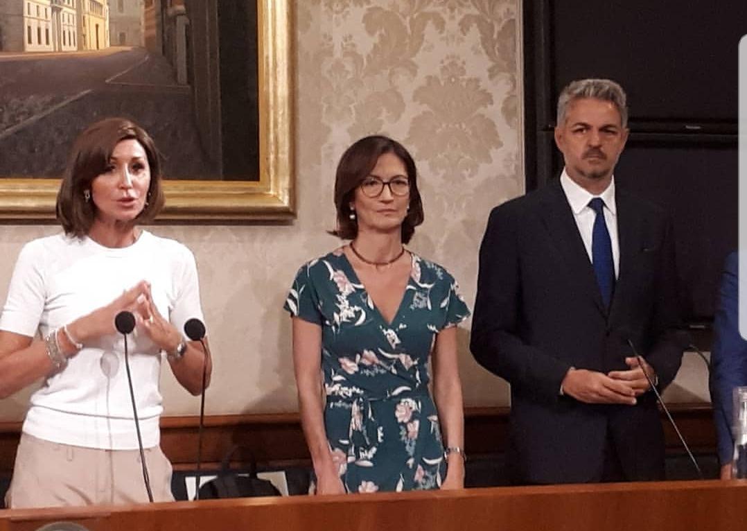 Anna Maria Bernini, Mariastella Gelmini e Simone Baldelli