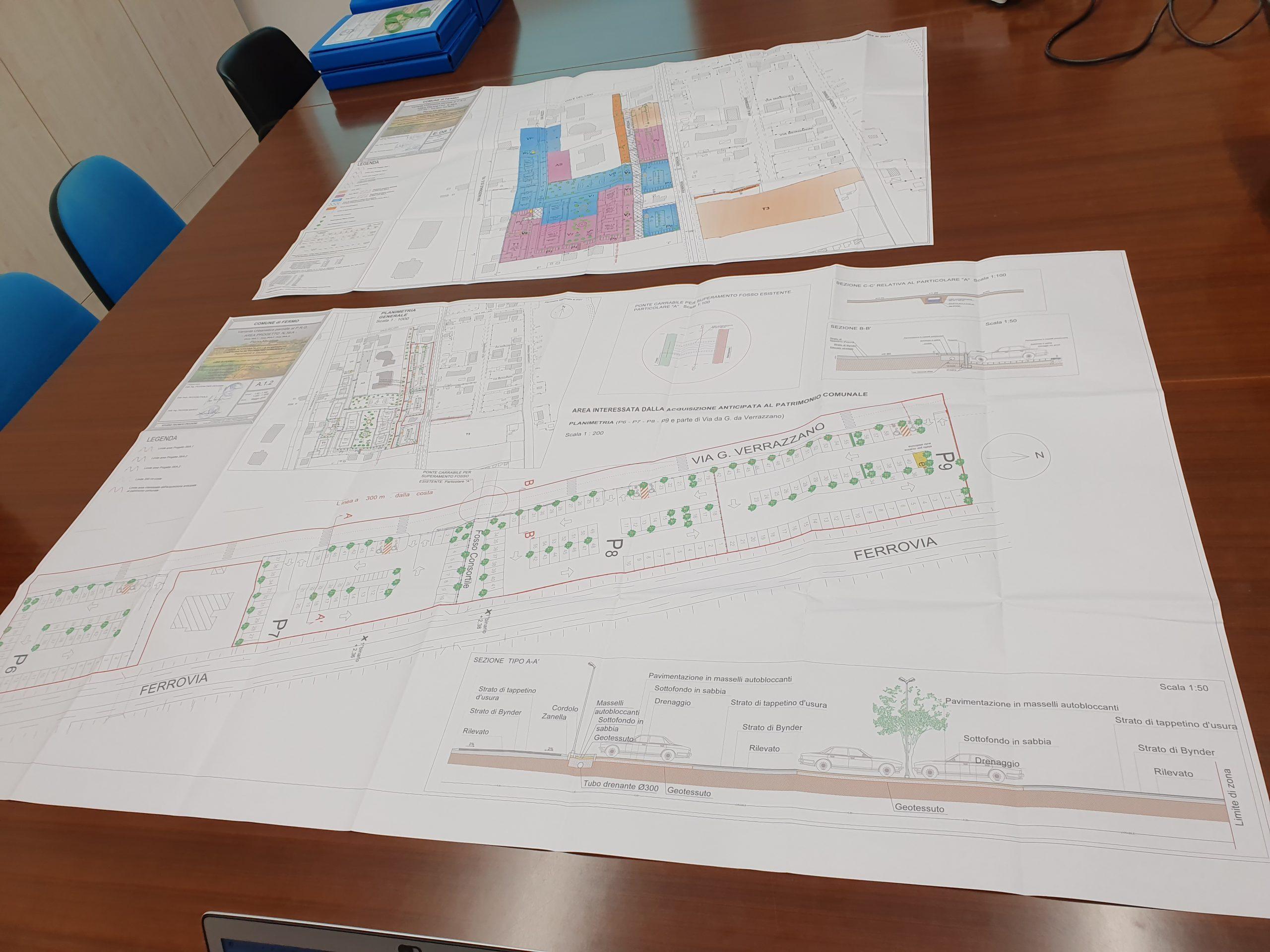area progetto 38 lido di Fermo