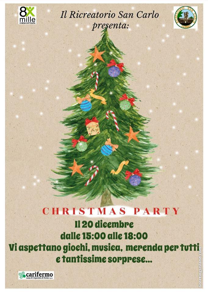 christmas party San Carlo