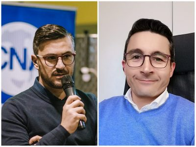 Da sin. Alessandro Migliore e Massimiliano Felicioni